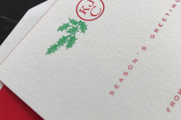 Christmas monogram