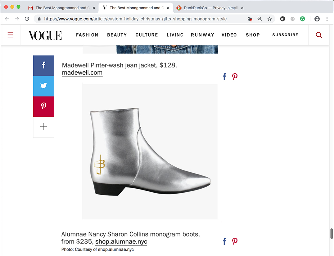 As seen in Vogue.