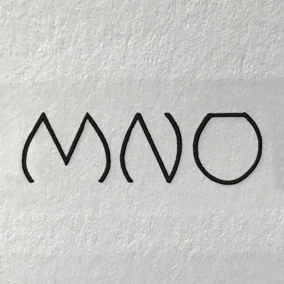 ALUMNAE monogram alphabet