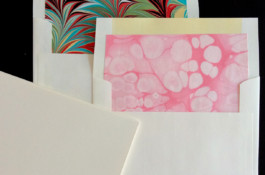 Marble Paper Envelopes & Notes